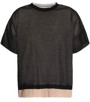 Marni Layered Cotton-Blend T-Shirt