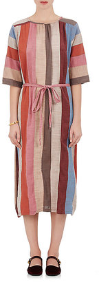 Ace & Jig Women's Olympia Mixed-Fabric Midi-Dress $275 thestylecure.com