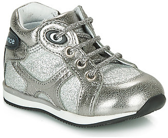 GBB NANCY boys's Shoes (High-top Trainers) in Silver