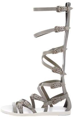 Balenciaga Leather Gladiator Sandals w/ Tags