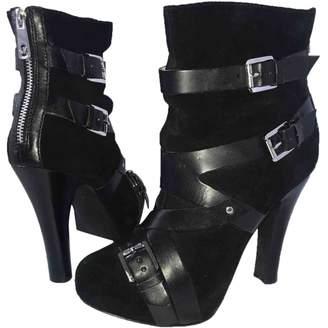 MICHAEL Michael Kors Black Suede Ankle boots