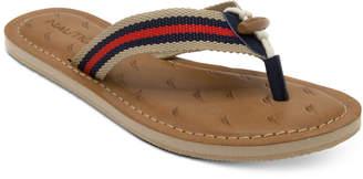 Nautica Slipway Flip-Flops Women's Shoes $35 thestylecure.com