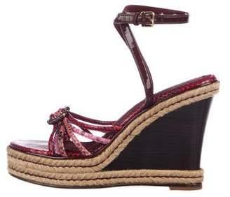 Louis Vuitton Espadrille Sandals