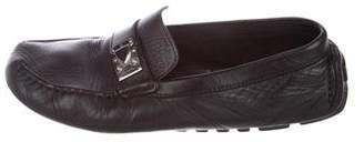 Louis Vuitton Buckle-Accented Driving Loafers