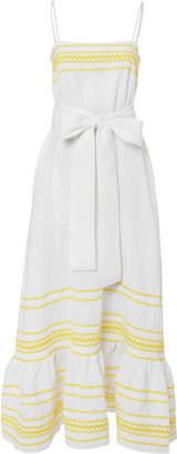 Lisa Marie Fernandez Ric Rac Maxi Dress