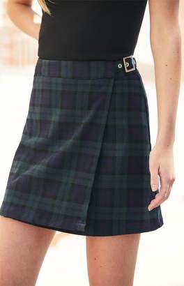 John Galt Emerson Plaid Skirt