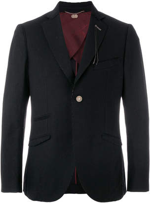 Maurizio Miri single breasted classic blazer