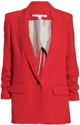 Veronica Beard Draped Graham Dickey Blazer