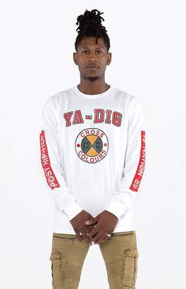 Cross Colours Ya Dig Long Sleeve T-Shirt