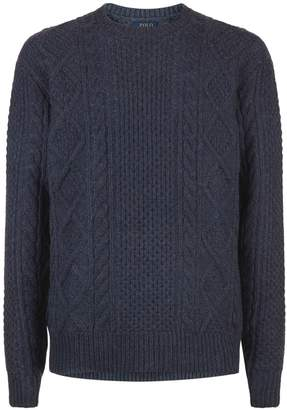 Polo Ralph Lauren Aran Cable Knit Sweater