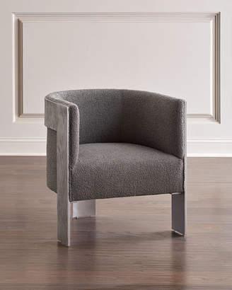 Bernhardt Cosway Aluminum Frame Tub Chair