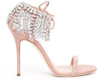 Giuseppe Zanotti Diamanté Embellished Sandals