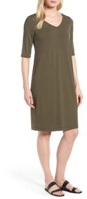 Eileen Fisher Stretch Jersey Shift Dress