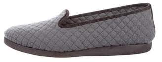 Loro Piana Cashmere Quilted Slippers