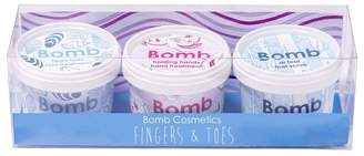 Bomb Cosmetics Fingers & Toes Potted Gift Pack - Blue