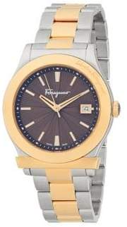 Salvatore Ferragamo Two-Tone Stainless Steel Bracelet Analog Watch