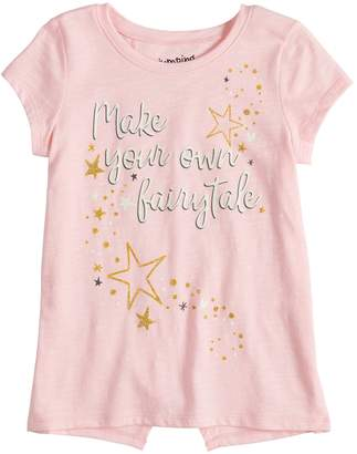Girls 4-10 Jumping Beans Tulip Back Graphic Tee