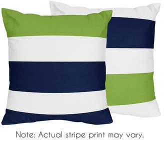 JoJo Designs Sweet Stripe Throw Pillow