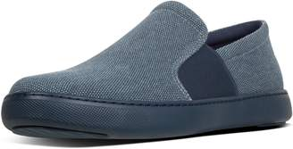 FitFlop Collins Texture Canvas Slip-On Skate Shoes