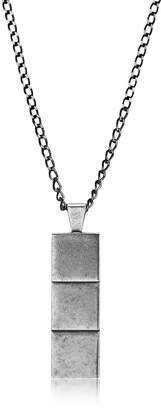 Northskull Layers Aged Silver Necklace