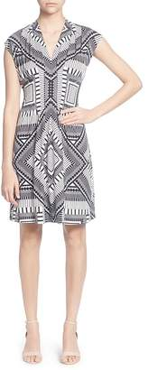 Catherine Malandrino Tinka Printed Dress