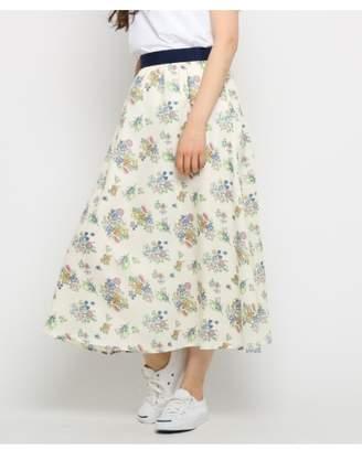 Dessin (デッサン) - Ladies [洗える]ブーケプリントスカート