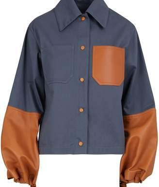 Loewe Short leather jacket