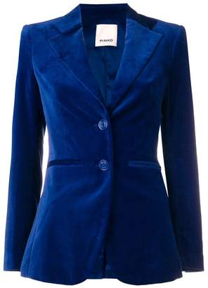 Pinko velour two button blazer