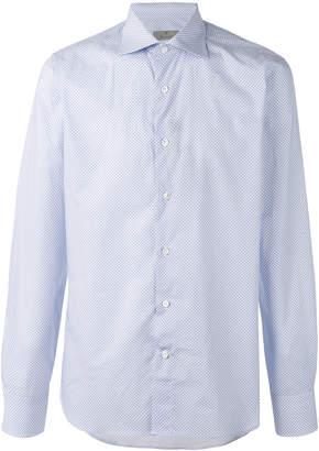 Canali plain shirt