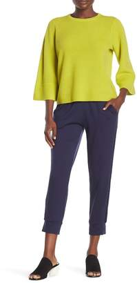 Eileen Fisher Velour Stripe Jogger Pants (Petite)
