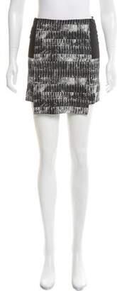 Reed Krakoff Printed Mini Skirt