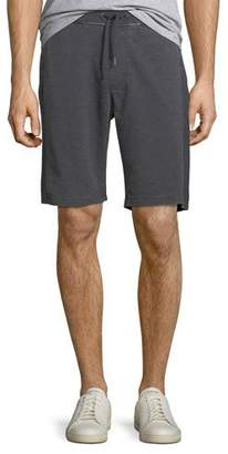 John Varvatos Burnout French Terry Cloth Shorts