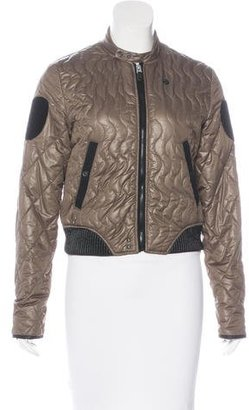G-Star RAW Quilted Long Sleeve Jacket