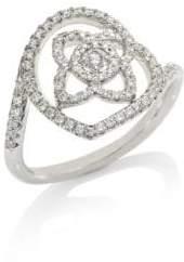 De Beers Enchanted Lotus Diamond Ring