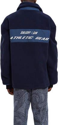 Sakashy Fleece Athletic Gear Coat