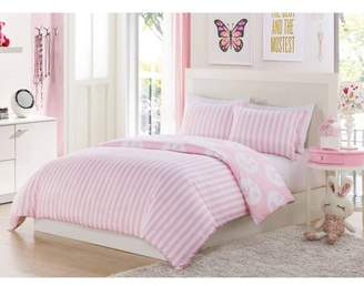 Duck River Plie Dot 2 Piece Twin Comforter Set in Pink