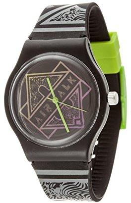 Airwalk クォーツプラスチックとシリコンCasual Watch , Color : Black ( Model : aww-5089-bk )