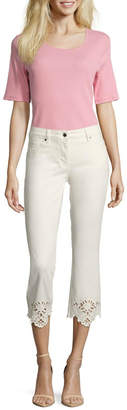 Betty Barclay White Summer Jeans