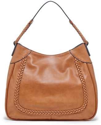 Rema Braided Vegan Leather Shoulder $64.95 thestylecure.com