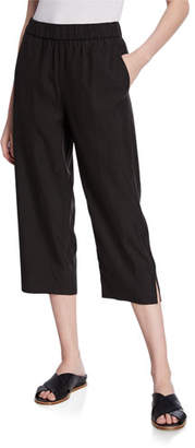 Eileen Fisher Plus Size Sandwash Slouchy Crop Pants