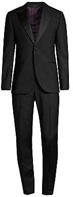 Paul Smith Men's Soho Tailored-Fit Black Wool-Mohair Evening Suit