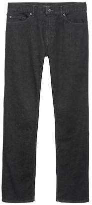 Banana Republic Slim Rapid Movement Denim Black Jean