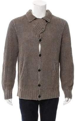 John Varvatos Linen Knit Cardigan