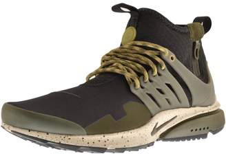 Nike Presto Mid Utility Trainers Brown