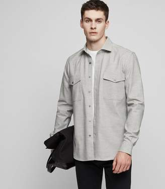 Reiss FLIGHT Flannel overshirt