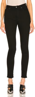 Acne Studios Bla Konst Peg Skinny in Black | FWRD