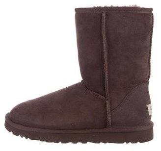 UGG Australia Classic Short Ankle Boots $75 thestylecure.com