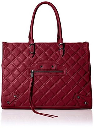 Steven Madden Women's Zinnia Quilted Tote $68.40 thestylecure.com