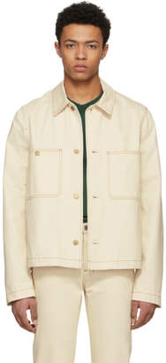 Acne Studios Bla Konst Off-White Denim Unreal Jacket