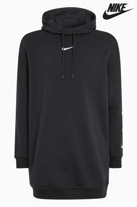 Next Womens Nike Black Swoosh Hoody